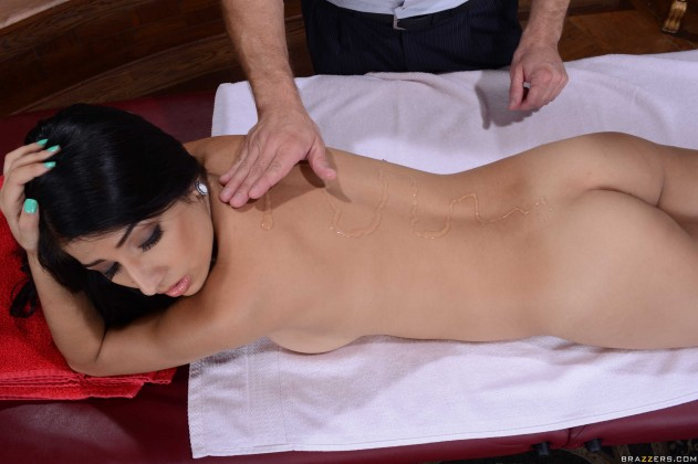 Megan Salinas   Dirty Masseur
