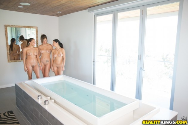 Celeste Star, Malena Morgan, Megan Salinas   We Live Together